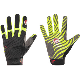 Castelli CW 6.0 Cross Gloves Men black/yellow fluo